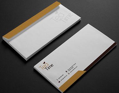 Envelope Design for Tea Time