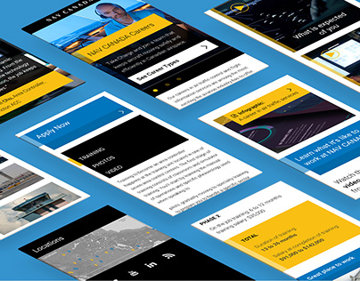 NAV CANADA's Take Charge Website Re-design