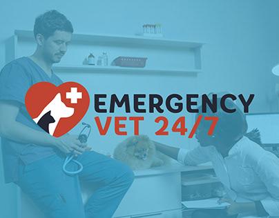 Emergency Vet 24/7 - Website Development
