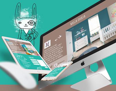 Meblowa Kraina • web design · leaflet
