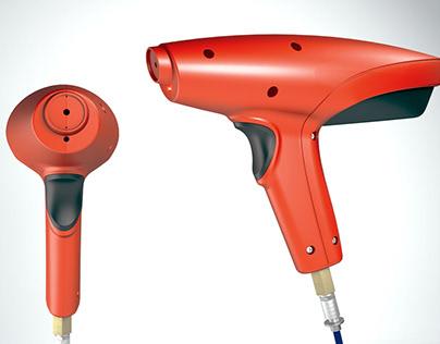 Design of Ionising Air Gun-