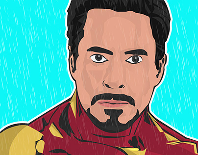 Iron Man- Illustration