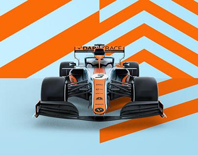 F1 + Rocket League | Mclaren Monaco GP Livery 2021