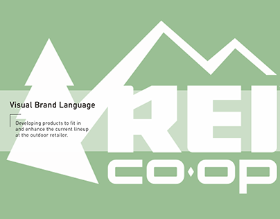 Visual Brand Language - REI