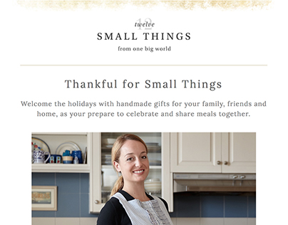 12 Small Things Email Newsletter