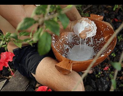 how to make coconut cream in Samoa?