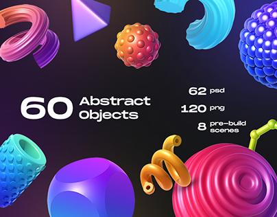 60 Abstract Objects