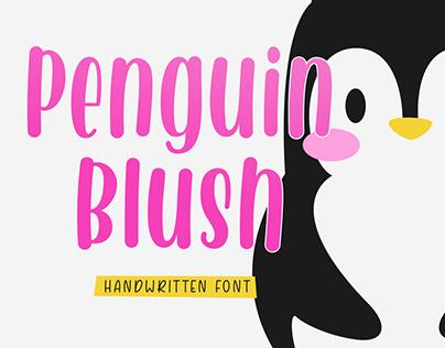 FREE | Penguin Blush - Handwritten Font