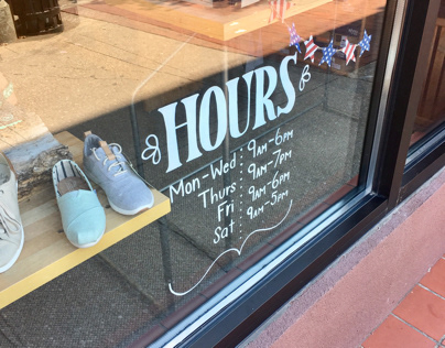 Brown's Shoe Fit Store Hours