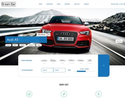 DREAM CAR - Premium Car Dealers Drupal Theme