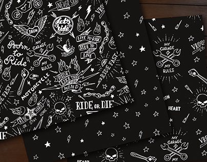 Rero biker patterns