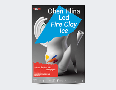Fire Clay Ice exhibition design
