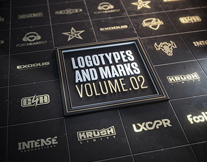 Logotypes and marks: Vol.02