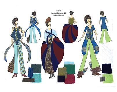 'Pride' SS/16: Etro Fashion Design Line Up