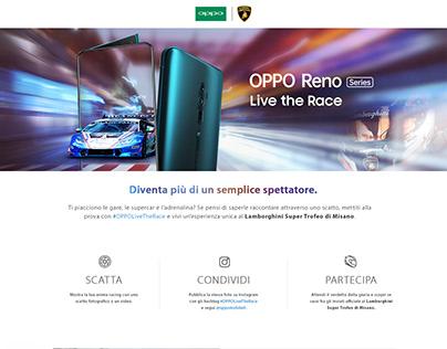 OPPO RENO - Live the Race