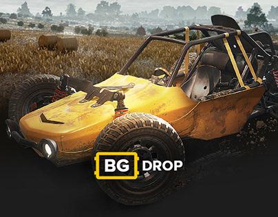 BGdrop — playerunknown's battlegrounds (PUBG) cases