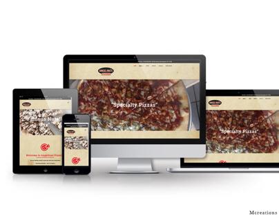 Angelina's Pizzeria Website, Newyork