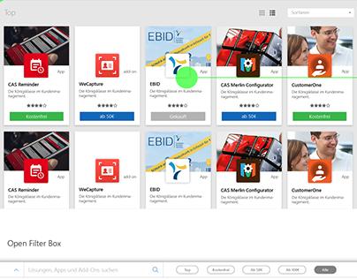 Webstore for Apps