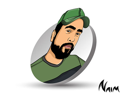 Cartoon portrait of tahseenation