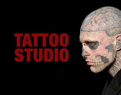 Web site for Tatto Studio