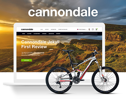 Cannondale Bike Store & Bikemap Redesign Concept