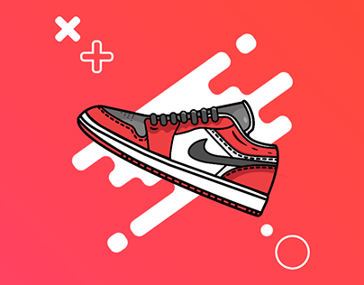 Sneaker Digital Illustrations