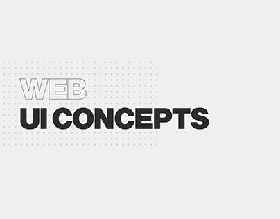 Web UI Concepts