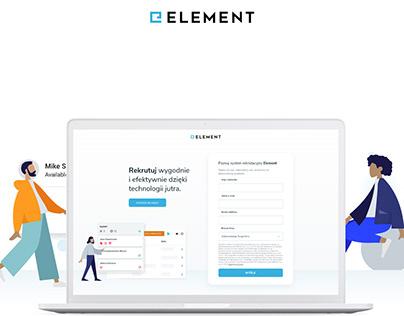 System Rekrutacyjny Element