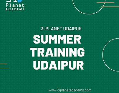 Summer Training in Udaipur