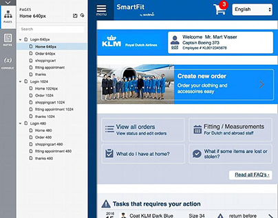 KLM /Sodexo : Service Design / prototyping