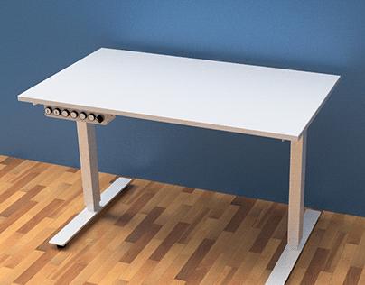 Automatic lifting upgrade for IKEA SKARSTA desk