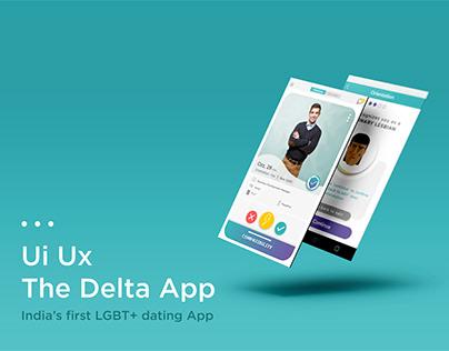 Ui- Ux Design- The Delta App