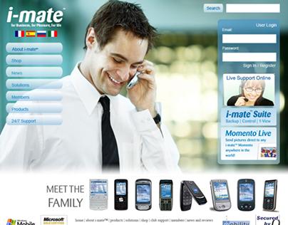 I-Mate, Momento, ALPicture project design comps