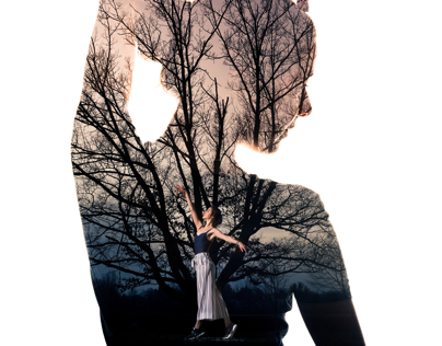 How to shoot and create awesome double exposure portrai