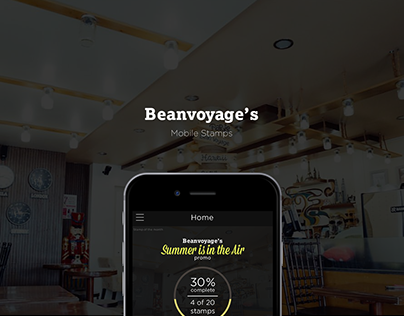 Beanvoyage's mobile stamp