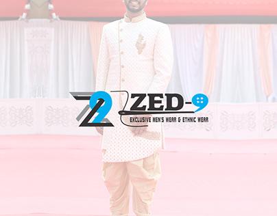 Zed9 Exclusive Men's wear & Ethnic Wear : Logo Design