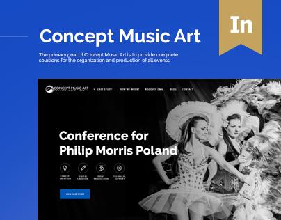 CMA.pl - Concept Music Art Website