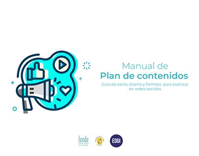 Social Media Content Plan | FUNDE El Salvador