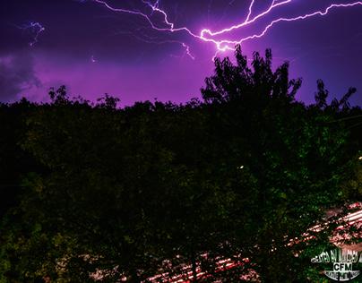 Gewitter Über Wien ___Thunderstorm over Vienna