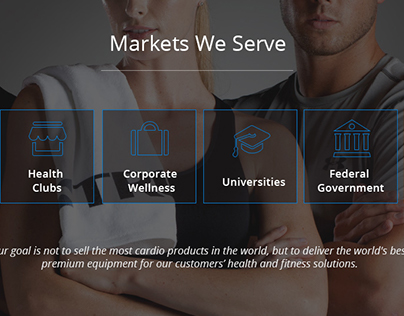 2015 Fitness Commercial Market UX