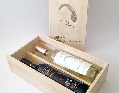 Illustrations for Tierra de Poetas, Chilean Wine.