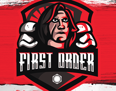 First Order Mascot Logo