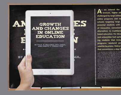 CPA Journal - Growth and Changes in Online Education