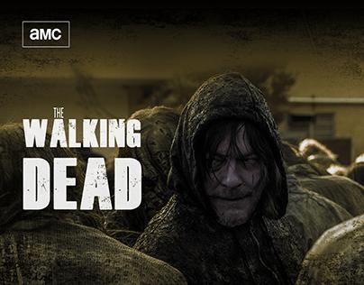 THE WALKING DEAD — amc's website redesign