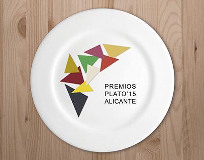 Cartel Premios Plato Alicante 2015