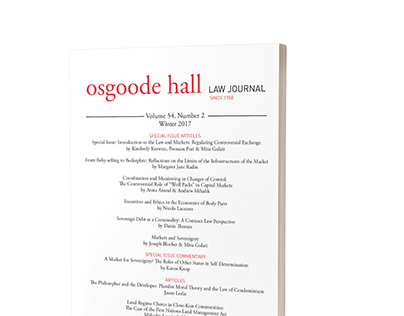 Osgoode Hall Law Journal