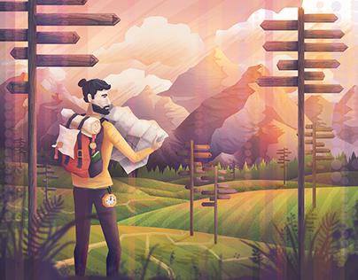 Dreamy Illustrations - set