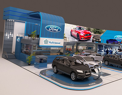 Automech 2017 FORD Booth