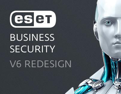 ESET Business Line v6 - Redesign
