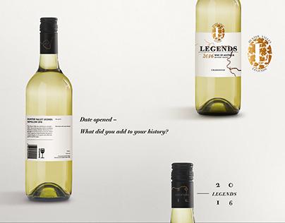 Hunter Valley Legends: Wine Label